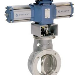 Somas Segmented Ball Control Valves